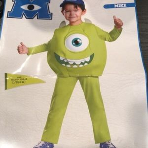 Mike from Monsters Inc toddler costume